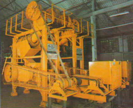 DOUBLE ROLL CRUSHER (SMOOTH ROLL, CORRUGATED ROLL PROFILE